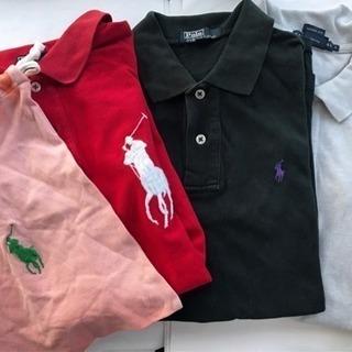値下げ 正規品ラルフローレン ポロシャツ3点+巾着ポーチセット!