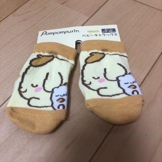 新品 ポムポムプリン ベビーソックス  靴下