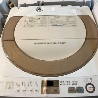【送料無料・設置無料サービス有り】洗濯機 2016年製 SHAR...