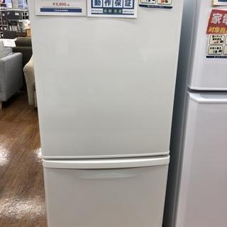 6ヶ月間の保証付 パナソニック 2ドア 138L 冷蔵庫
