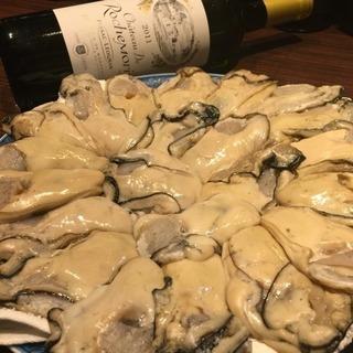 牡蠣の本当に美味しいのは今からです