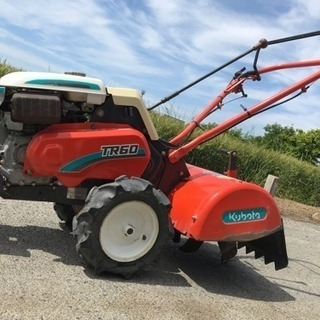 クボタ TR60 農用トラクター 管理機 耕うん機 動作品 美品...