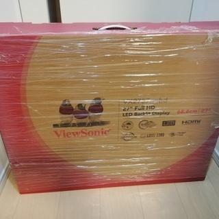 [新品]VIEW SONIC 27型ワイドモニター FullHD...