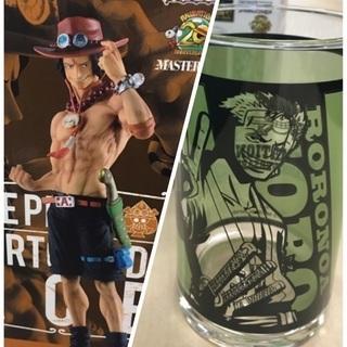 【新品未開封】ワンピース 一番くじ フィギュア&グラスのセット