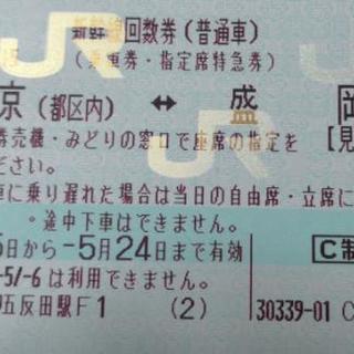 新幹線 回数券 東京 ⇔ 盛岡 10,000円 使用期限 24日迄