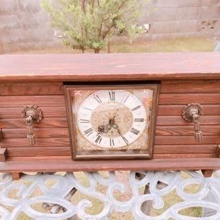 【アンティーク】CITIZEN  ネジ式 置き時計