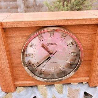 CITIZEN  TRANSISTOR  置き時計