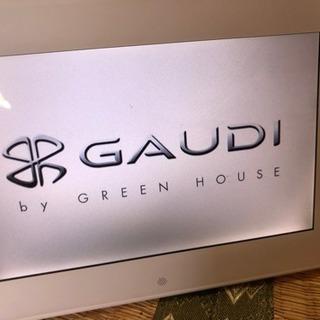 デジタルフォトフレーム GAUDI GHV-DF7GDW