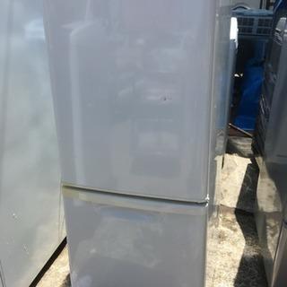 Panasonic2ドア 冷凍冷蔵庫138㍑NR-B143w