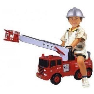 乗用玩具 消防車 お譲りします