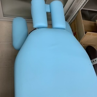 整体ベッドひじ掛けあり ブルー^_^