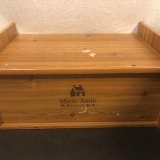 木製収納ボックス