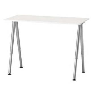 IKEAのテーブル デスク ホワイト 60cm×120㎝ 【THY...