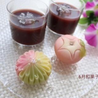 季節の和菓子レッスン♪