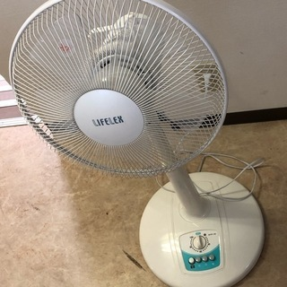★LIFELEX 2011年製 メカ式リビング扇風機KML-31...