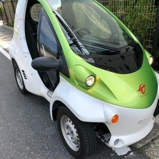 1人乗り電気自動車レンタル