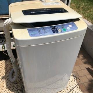 ハイアール 洗濯機 4.5kg 無料 早い物勝ち