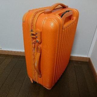 【格安】スーツケース オレンジ