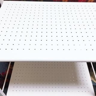 本棚 物置き 3段ドウシシャ キッチンラックワゴン − 静岡県
