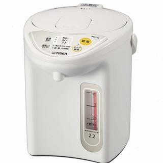 タイガー マイコン電気ポット 2.2L アーバンホワイト PDR-...