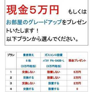 松山市東長戸 潮見マンション301号 3DK【3.9万円】ペット...