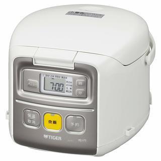 新品 タイガー 炊飯器 マイコン 3合 ホワイト 炊きたて ミニ ...