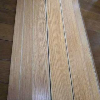 江戸間6畳 ウッドカーペット フローリングマット ライトブラウン