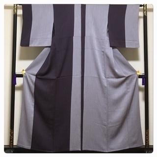西部謹製 美品 高級呉服 単衣 上質 正絹 訪問着 紋無 中古品