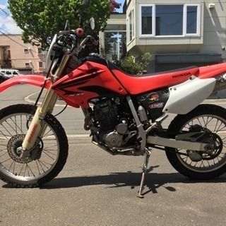 XR250 (MD30) 倒立