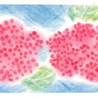6/10(月)午前 3色パステルアートで★紫陽花★を描こう / 自...
