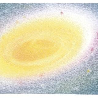 6/17(月)午前 3色パステルアートで★雨・宇宙・水滴★を描こう...