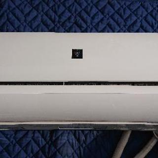 SHARP プラズマクラスター   エアコン  18年製   早...