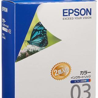【未使用・未開封】EPSON IC5CL03W インクカートリッ...