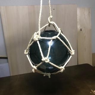 ガラス 浮き玉 照明器具