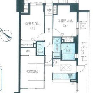 ★最上階、角部屋リノヴェーションマンション★キャッスルマンション入...