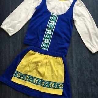 美品! 100cm★女の子  トップス&スカート