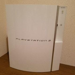 PS3本体白、コントローラー(中古難アリ)