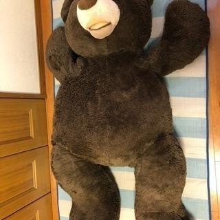熊のぬいぐるみ 大きいです