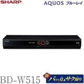 SHARP 500GB 2チューナー ブルーレイレコーダー AQ...