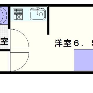 【サンライズコーポ】2号タイプ!1Rタイプ!安い!近い!きれい!