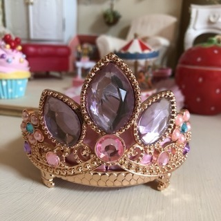 ディズニープリンセス アクセサリースタンド 王冠 ティアラ