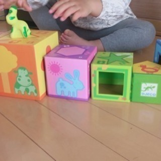 マトリョーシカ風 動物ハウスのおもちゃ