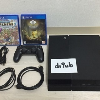 PS4 CUH-1100A コントローラー、ソフト2本付き