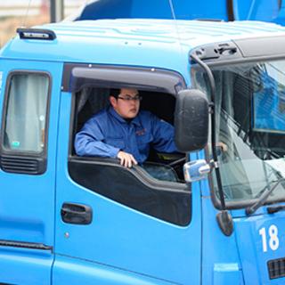 【未経験者歓迎】3tミキサー車でのルート配送ドライバー