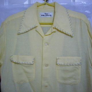 中古・Mサイズ・ピンクドラゴン(クリームソーダ)半袖シャツ美品!