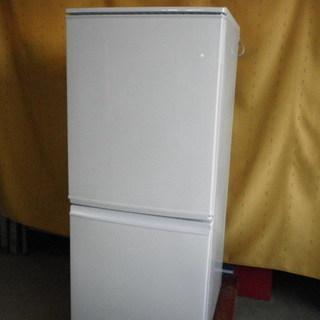 シャープ SHARP SJ-D14A-W 2ドアノンフロン 冷凍冷...