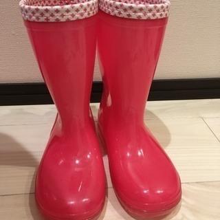 ピンクの長靴 19センチ