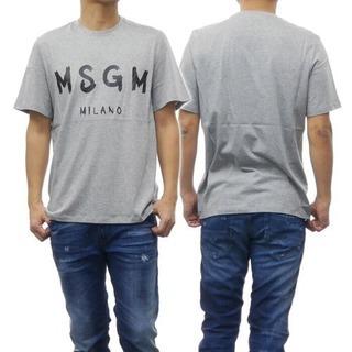 MSGM グレー Tシャツ