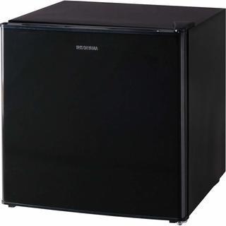 新品 アイリスオーヤマ ノンフロン冷蔵庫 1ドア 42L ブラック...