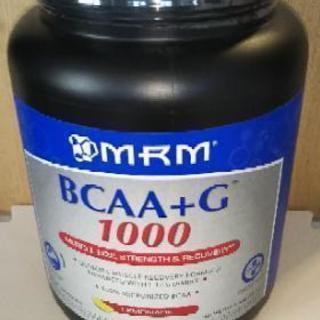 MRM製BCAA+G レモネード風味 1kg 新品未開封
